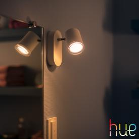 Philips Hue White ambiance Adore LED Spot/Wandleuchte mit Dimmer, 1-flg