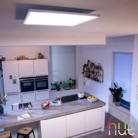 Philips Hue White ambiance Aurelle LED Deckenleuchte mit Dimmer, quadratisch