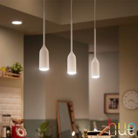 Philips Hue White ambiance Devote LED Pendelleuchte mit Dimmer