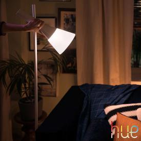 Philips Hue White ambiance Explore Stehleuchte mit Dimmer