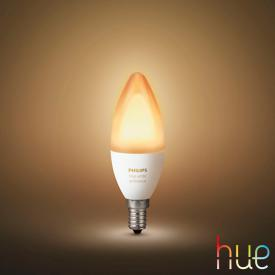 PHILIPS Hue White Ambiance LED E14, 6 Watt