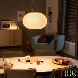 Philips Hue White and color ambiance Flourish LED Pendelleuchte mit Dimmer