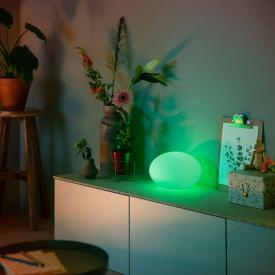 Philips Hue White and color ambiance Flourish LED Tischleuchte