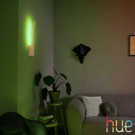 Philips Hue White and color ambiance Liane LED Wandleuchte mit Dimmer