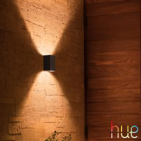 Philips Hue White & Color Ambiance Resonate RGBW LED Wandleuchte