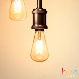 PHILIPS Hue White Filament LED E27 Giant Edison, 7 Watt