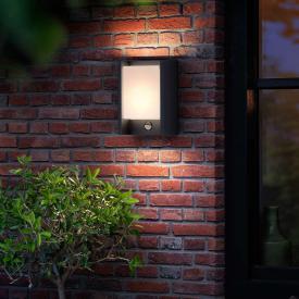 Philips myGarden Arbour LED Wandleuchte mit Bewegungsmelder