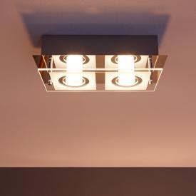 Philips myLiving Polygon LED Deckenleuchte 2-flammig