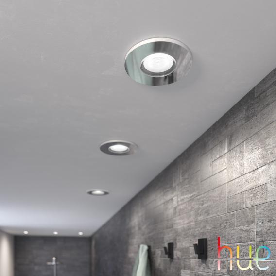 PHILIPS Hue Adore White Ambiance 3er Set LED Einbauleuchte/Spot