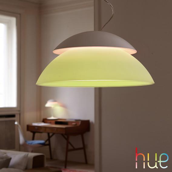 Philips Hue Beyond LED RGBW Pendelleuchte mit Dimmer
