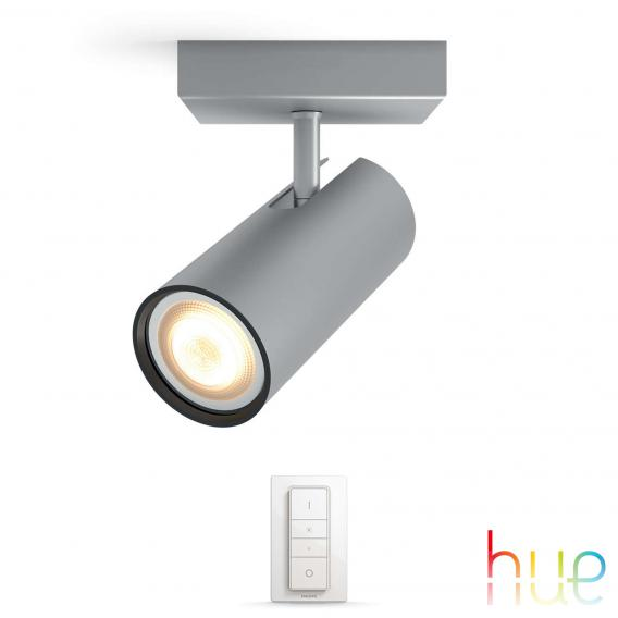 Philips Hue Buratto Deckenspot 1-flammig mit Dimmer