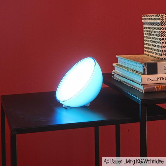 Philips Hue Go RGBW LED aufladbare Tischleuchte mit Dimmer