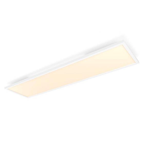 Philips Hue White ambiance Aurelle LED Deckenleuchte mit Dimmer, rechteckig