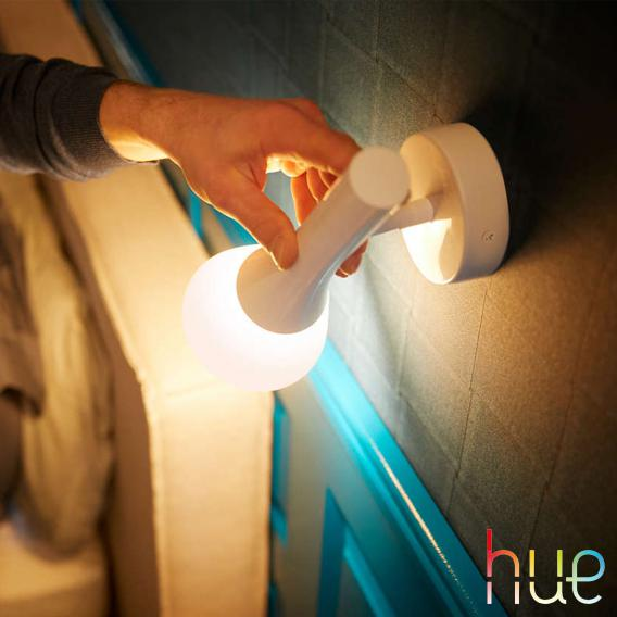 Philips Hue White ambiance Explore Wandleuchte mit Dimmer