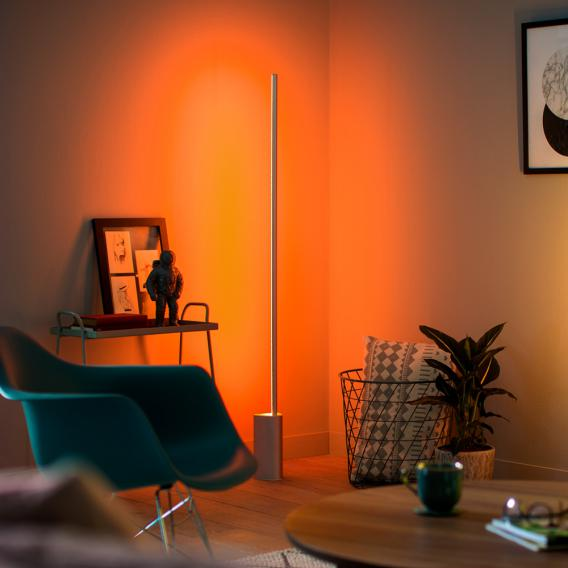 Philips Hue White and color ambiance Signe LED Stehleuchte mit Dimmer