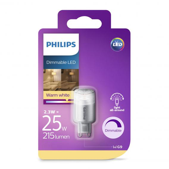 Philips LED Lampe, G9, dimmbar