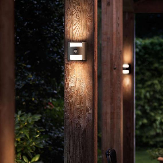 Philips myGarden Grass LED Wandleuchte mit Bewegungsmelder