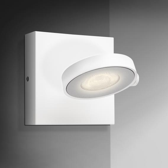 PHILIPS myLiving Clockwork LED Wand-/Deckenleuchte/Spot 1-flammig