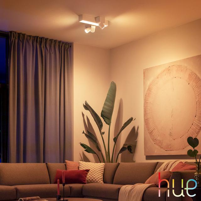 PHILIPS Hue Centris Cross RGBW LED Deckenleuchte, 4-flammig