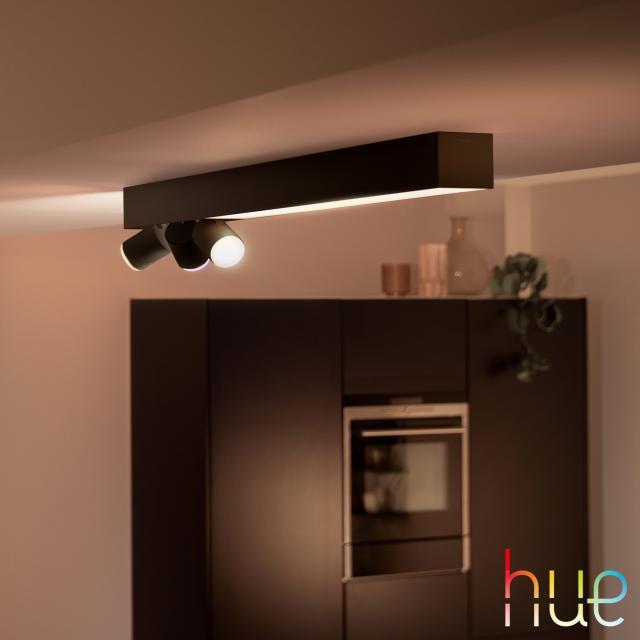 PHILIPS Hue Centris RGBW LED Deckenleuchte, 4-flammig