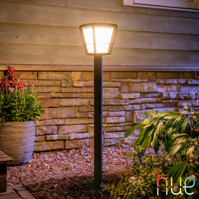 PHILIPS Hue Econic LED RGBW Pollerleuchte