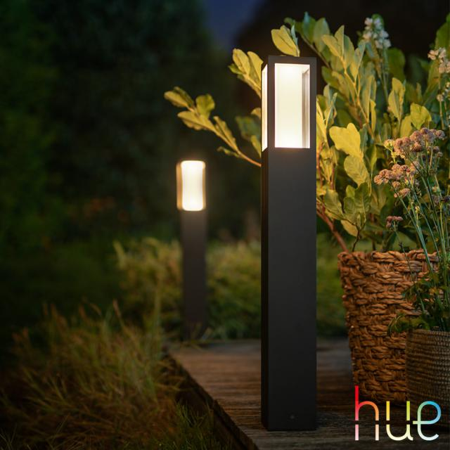 PHILIPS Hue Impress LED RGBW Pollerleuchte