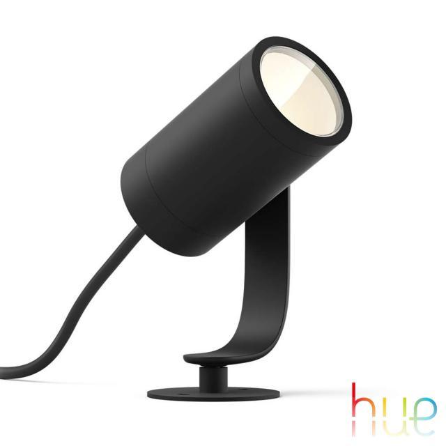 PHILIPS Hue Lily LED Spot/Bodenleuchte, Erweiterungs-Set
