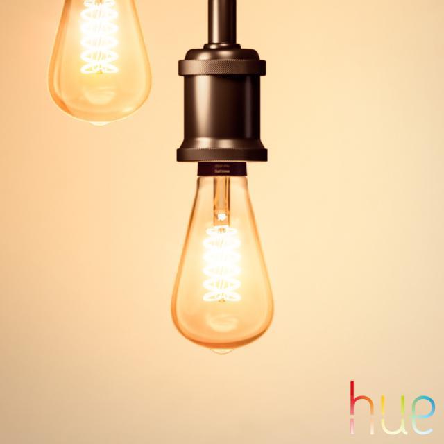 PHILIPS Hue White Filament LED E27 Giant Edison, 7 Watt
