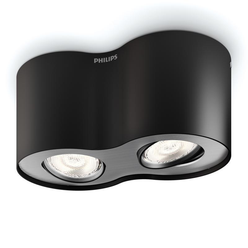 philips myliving phase led deckenleuchte spot 2 flammig 533023016 reuter. Black Bedroom Furniture Sets. Home Design Ideas
