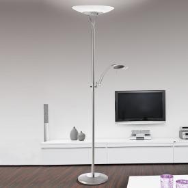 Paul Neuhaus Luxor LED Stehleuchte/Deckenfluter mit Dimmer