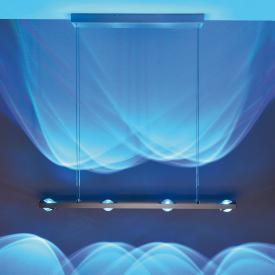 Paul Neuhaus Q-Fisheye RGBW LED Pendelleuchte mit Dimmer