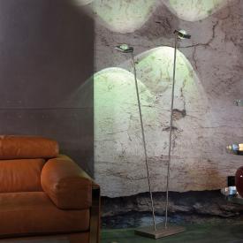 Paul Neuhaus Q-Fisheye RGBW LED Stehleuchte mit Dimmer, 2-flammig