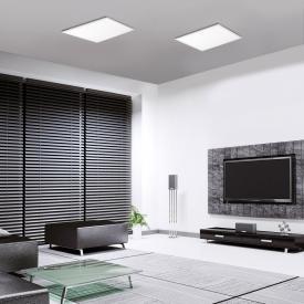 Paul Neuhaus Q-Flag CCT LED Deckenleuchte mit Dimmer, quadratisch