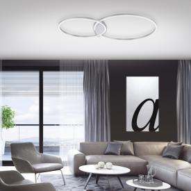 Paul Neuhaus Q-Kate LED Deckenleuchte mit Dimmer und CCT
