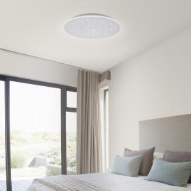 Paul Neuhaus Q-Nightsky LED Deckenleuchte mit Dimmer und CCT, rund
