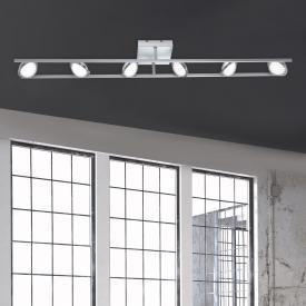Paul Neuhaus Q-Orbit LED Deckenleuchte mit Dimmer und CCT, 6-flammig
