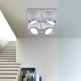 Paul Neuhaus Q-Orbit LED Deckenleuchte mit Dimmer und CCT, 4-flammig