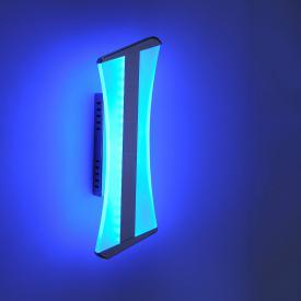 Paul Neuhaus Q-Riller RGBW LED Wandleuchte mit Dimmer und Ein-/Ausschalter