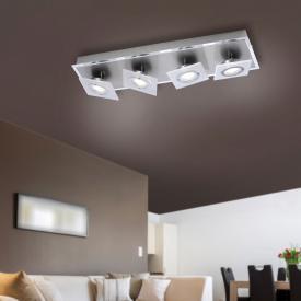 Paul Neuhaus Rotator LED Deckenleuchte/Spot 4-flammig, länglich