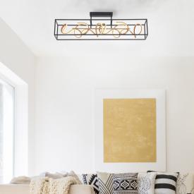 Paul Neuhaus Selina LED Deckenleuchte mit Dimmer