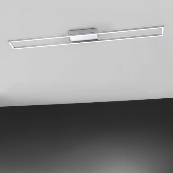 paul neuhaus inigo led deckenleuchte rechteckig 8085 55 reuter. Black Bedroom Furniture Sets. Home Design Ideas