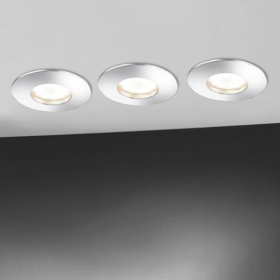 Paul Neuhaus Lumeco LED Einbaustrahler mit Dimmer, rund