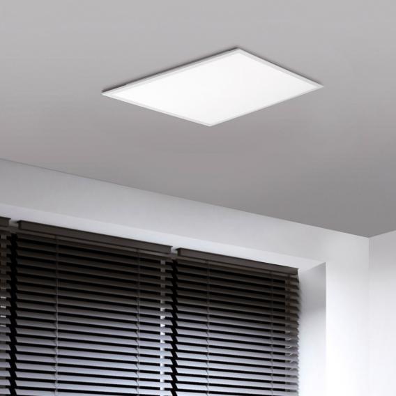 Paul Neuhaus Q-Flag RGBW LED Deckenleuchte mit Dimmer, quadratisch