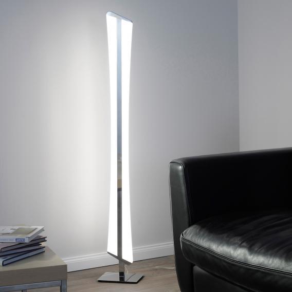 Paul Neuhaus Q-Riller RGBW LED Stehleuchte mit Dimmer