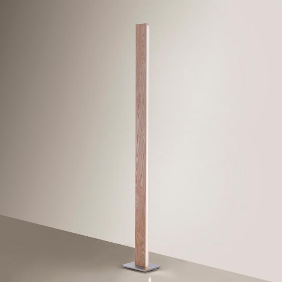 Paul Neuhaus Q-Timber LED Stehleuchte mit Dimmer und CCT