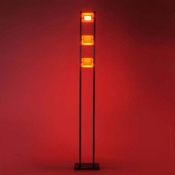 Paul Neuhaus Q-Vidal RGBW LED Stehleuchte mit Dimmer