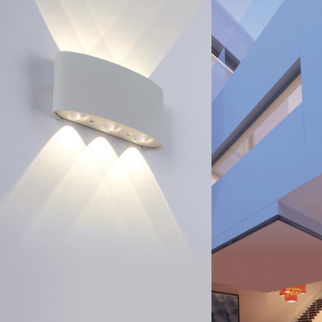 Paul Neuhaus Carlo LED Wandleuchte, 6-flammig