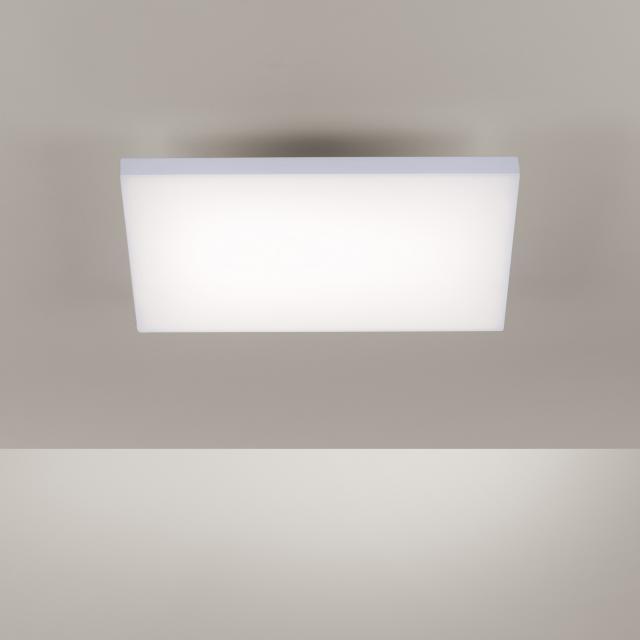Paul Neuhaus Frameless LED Deckenleuchte mit Dimmer und CCT, quadratisch