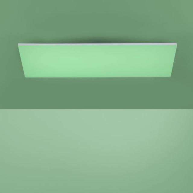 Paul Neuhaus Frameless RGBW LED Deckenleuchte mit Dimmer