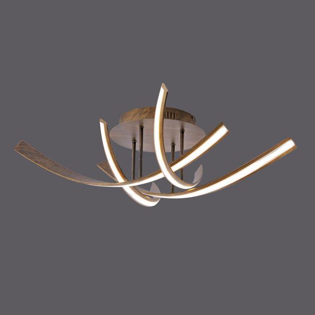 Paul Neuhaus Linda LED Deckenleuchte mit Dimmer 4-flammig